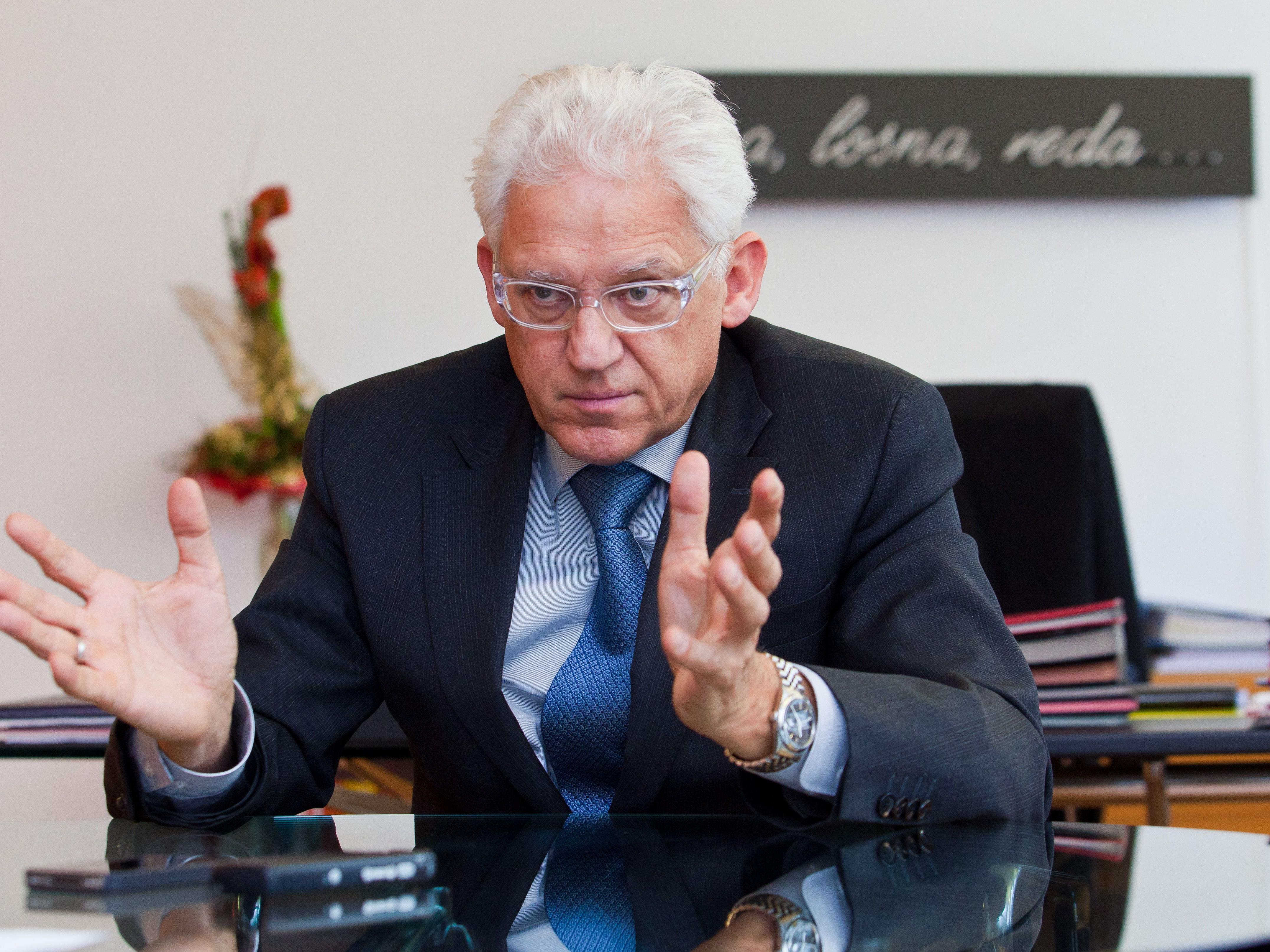Illwerke/VKW-Vorstandsvorsitzender Ludwig Summer.