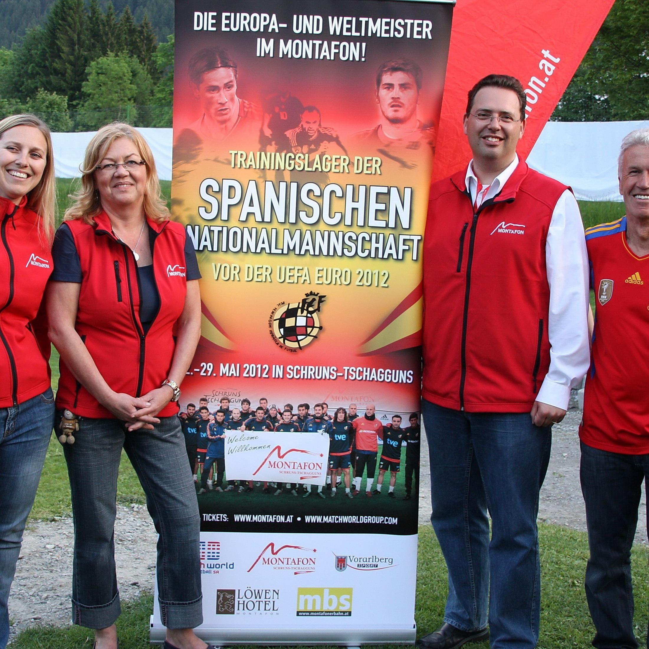 Das OK-Team von Montafon Tourismus hat die allerbeste Arbeit beim Spanien-Aufenthalt verrichtet.