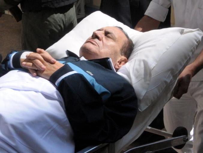 Mubarak hat schon längere Zeit gesundheitliche Probleme