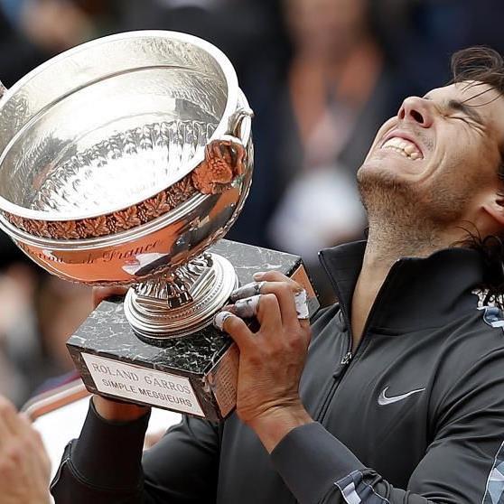Rafael Nadal (26) hat der Siegesserie von Djokovic am Montag ein fulminantes Ende gesetzt.