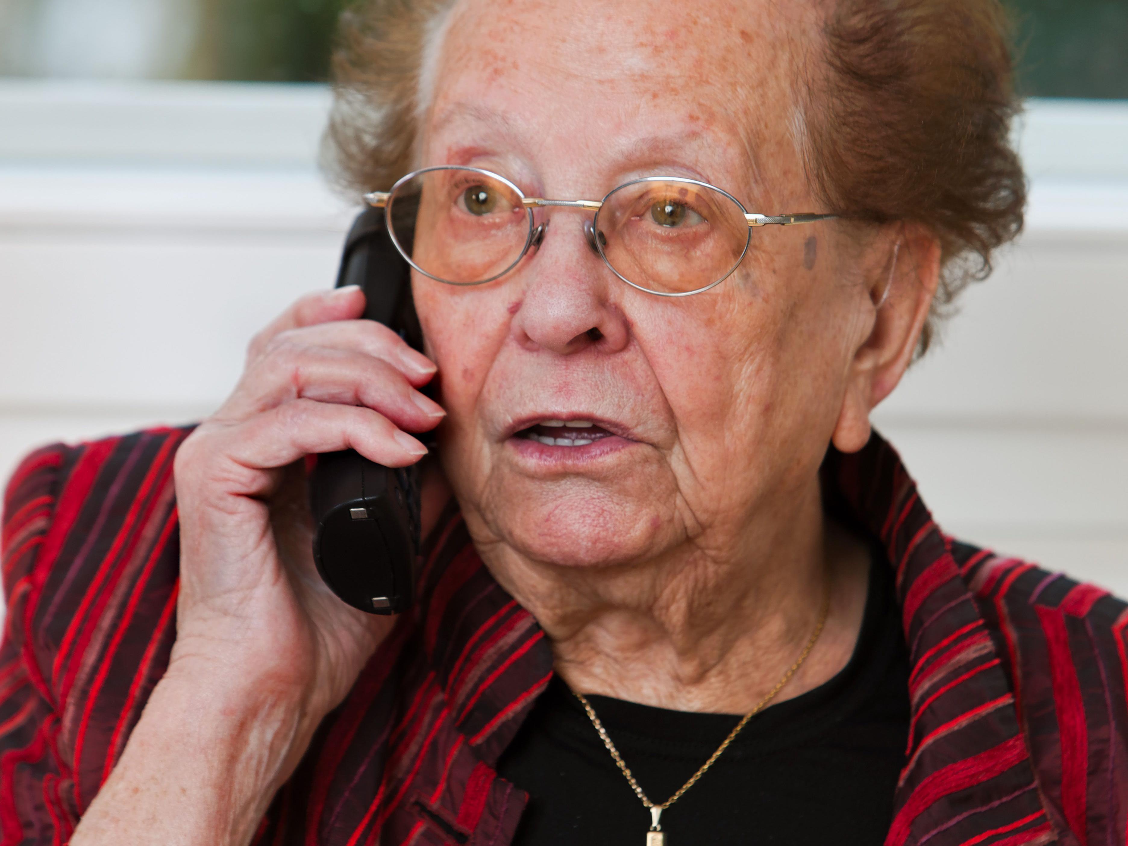 Die Senioren ließen sich nicht darauf ein und meldeten die Vorfälle der Polizei.