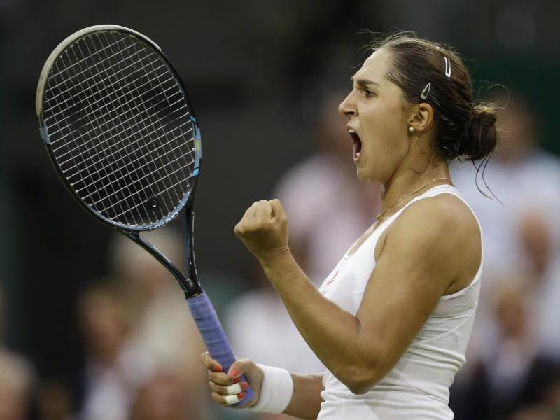 Harter Kampf in Wimbledon