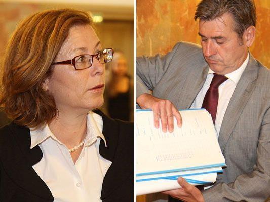 Anwalt Klien widersprach Ratz-Aussagen im Zeugenstand.