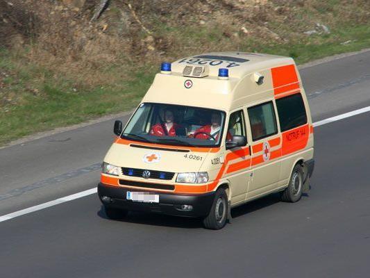 Mann bei Sturz von Baumhaus verletzt.