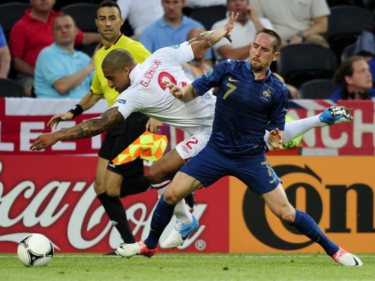 Franck Ribery blieb gegen England ohne Torerfolg