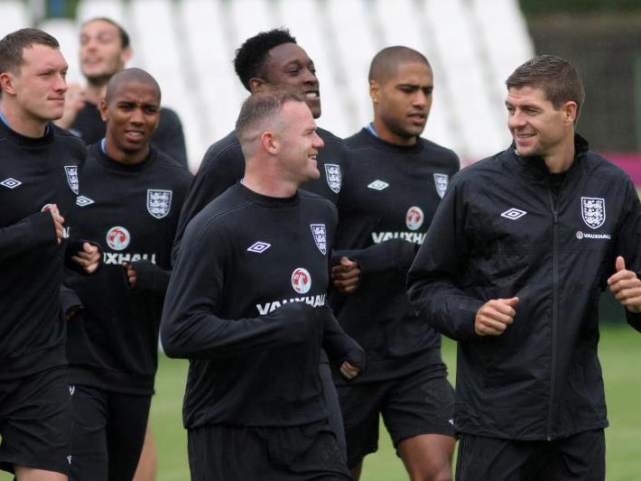Wayne Rooney ist für das Spiel gegen Schweden gesperrt.