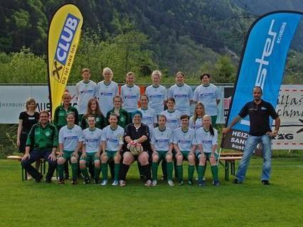 Damenteam des SC St.Gallenkirch