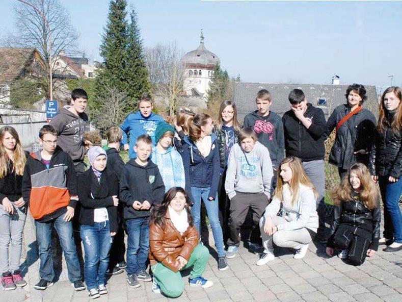 Die am Projekt beteiligten Schülerinnen und Schüler.