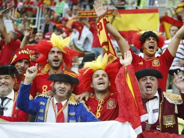 Spanische Fans hatten guten Grund zu jubeln