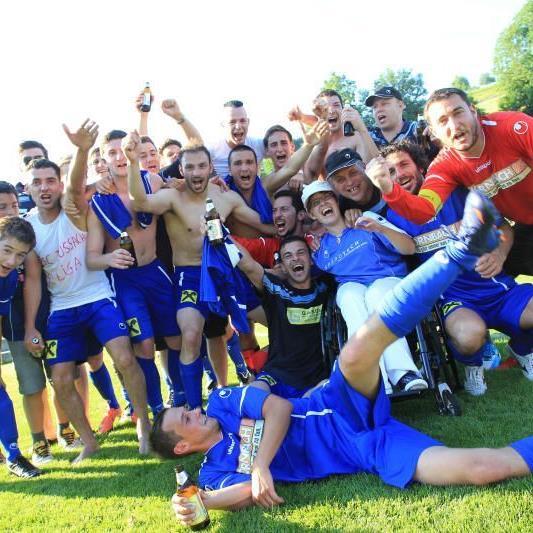 SC Fußach wurde Meister der Landesliga und steigt in die VL auf.