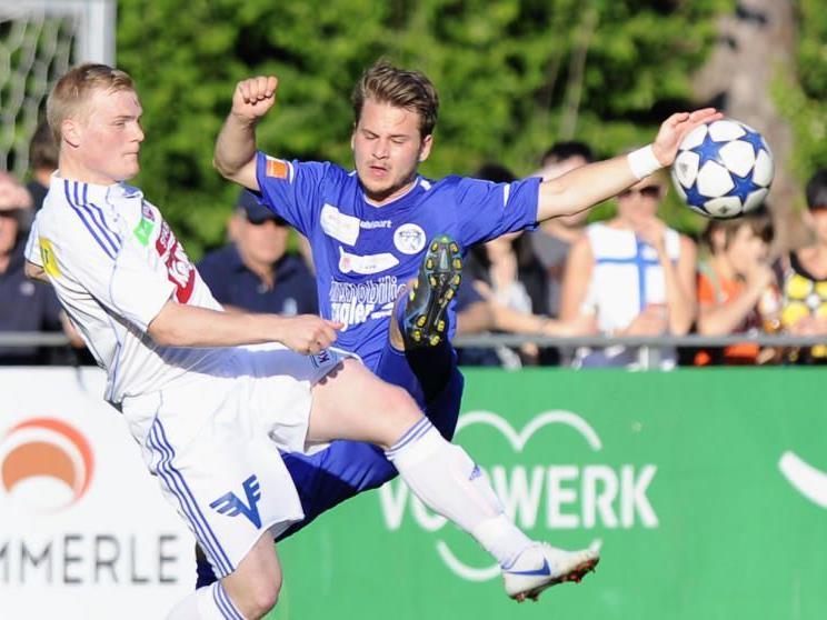 Talent Julian Lipburger spielt ab Sommer für den blum FC Höchst.