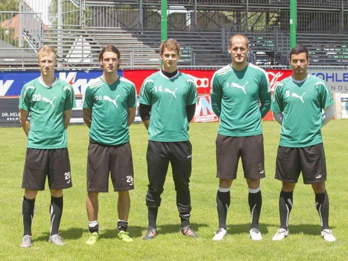 Fünf neue Spieler hat bislang die Lustenauer Austria für die kommende Saison verpflichtet.