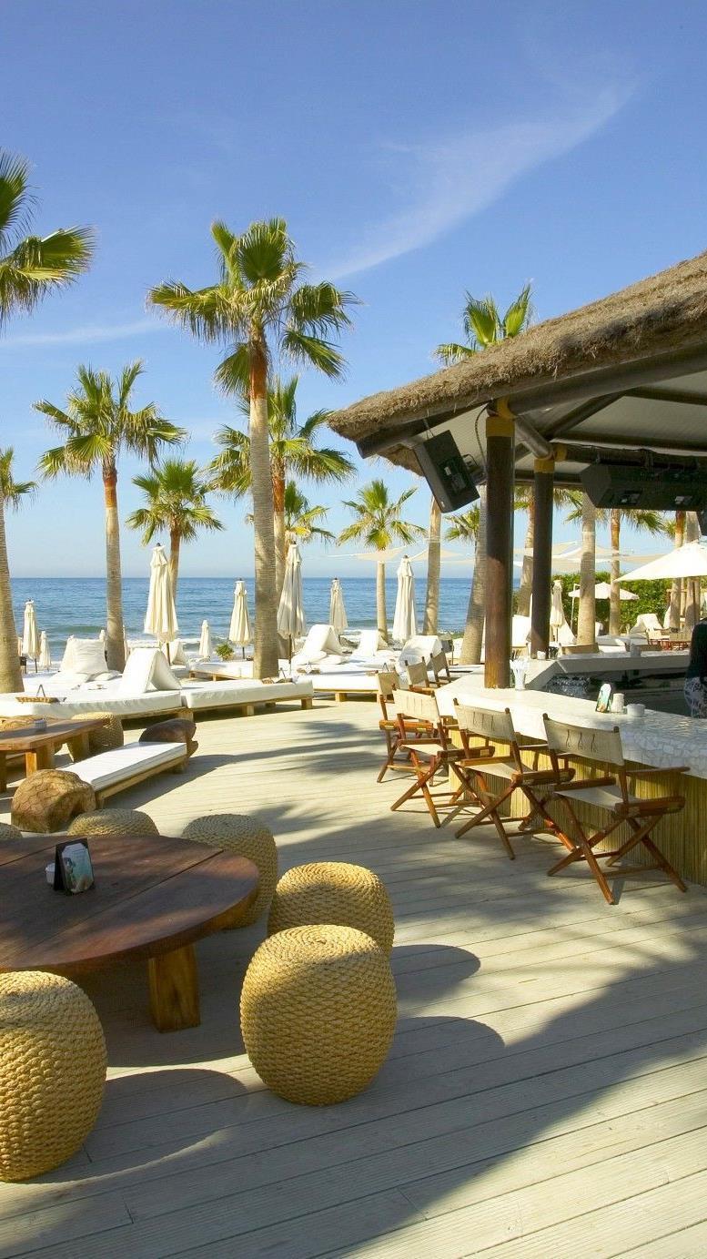 Nikki Beach, Marbella in Spanien.