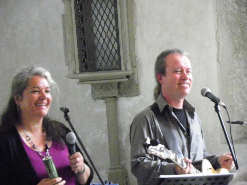 Lucia Berchtold und Manuel Garde