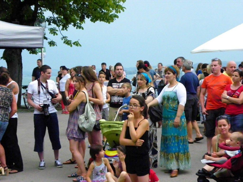 Besucherandrang beim Hafenfest