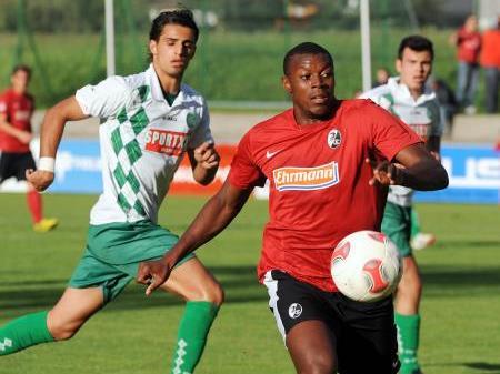 Der SC Freiburg besiegt in einem Testspiel St.Gallen U21 klar mit 4:0