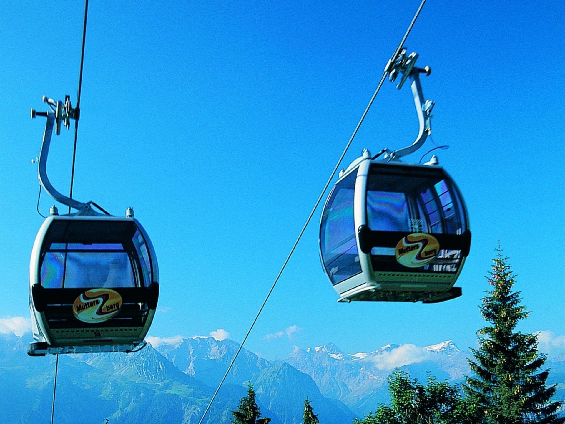 Die Öffnungszeiten der Muttersbergseilbahn und des Alpengasthofes wurden ab 1. Juli erweitert.