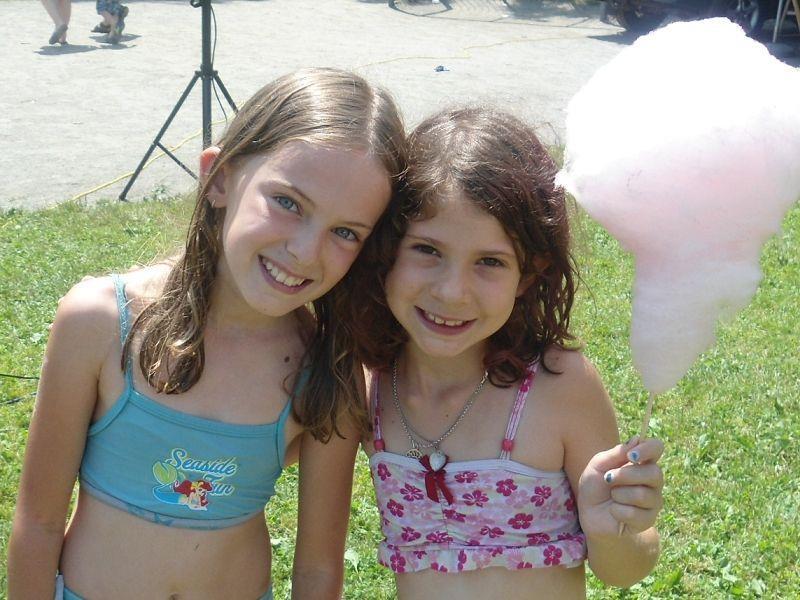 Erijone und Jennifer hatten viel Spaß
