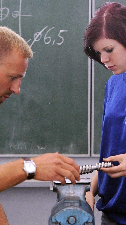 Mädchen sind in technischen Berufen immer noch selten anzutreffen