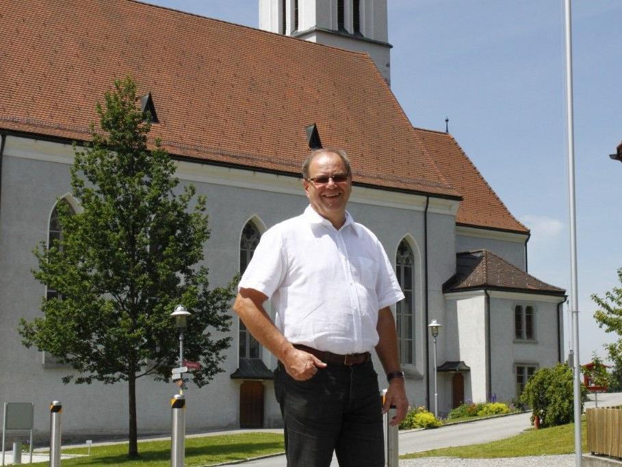 Ein beliebter Bürgermeister: Reinhard Nachbaur