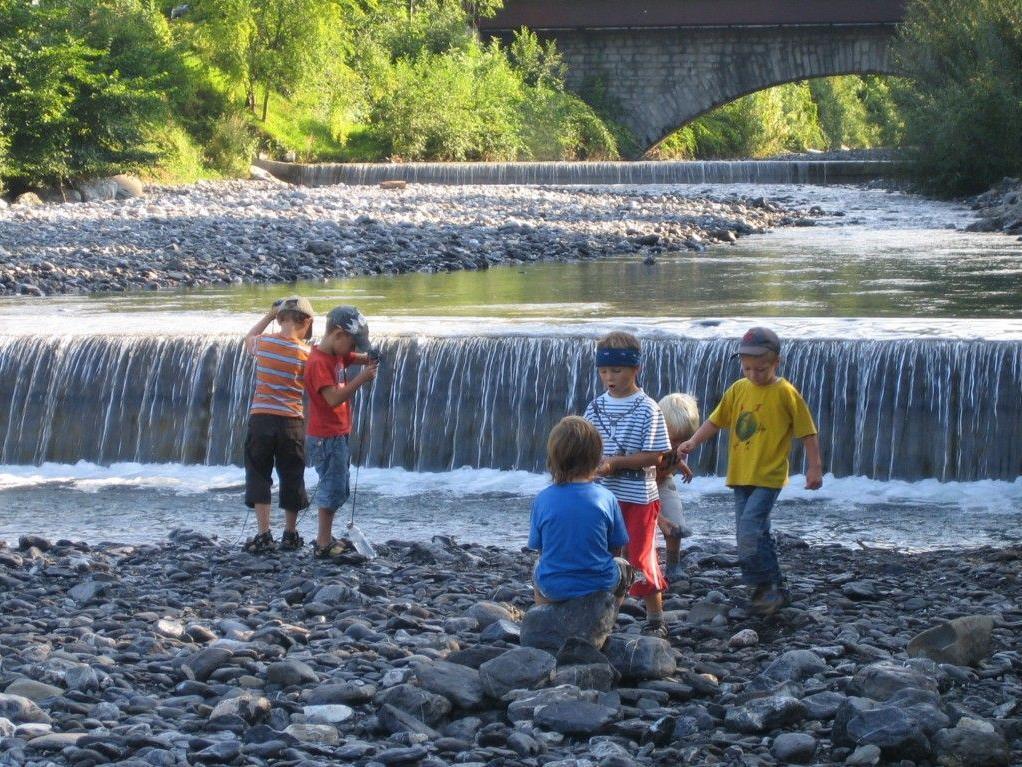 Die Kinder sollen bei der Muntliger Kreativwoche vor allem Spass haben.,