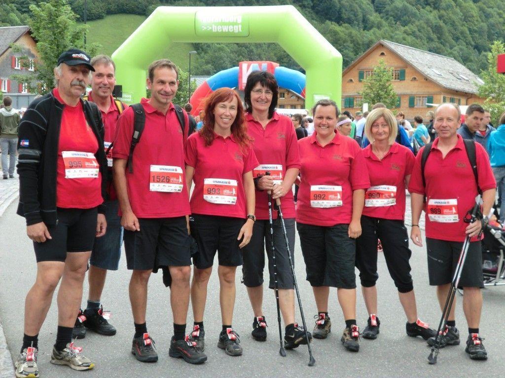 Wälderlauf 2012 - Team OGV Alberschwende