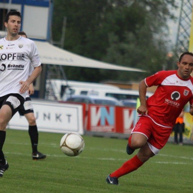 Altach Amateure Kapitän Mathias Didi Bachstein hofft auf einen gesicherten Mittelfeldplatz.