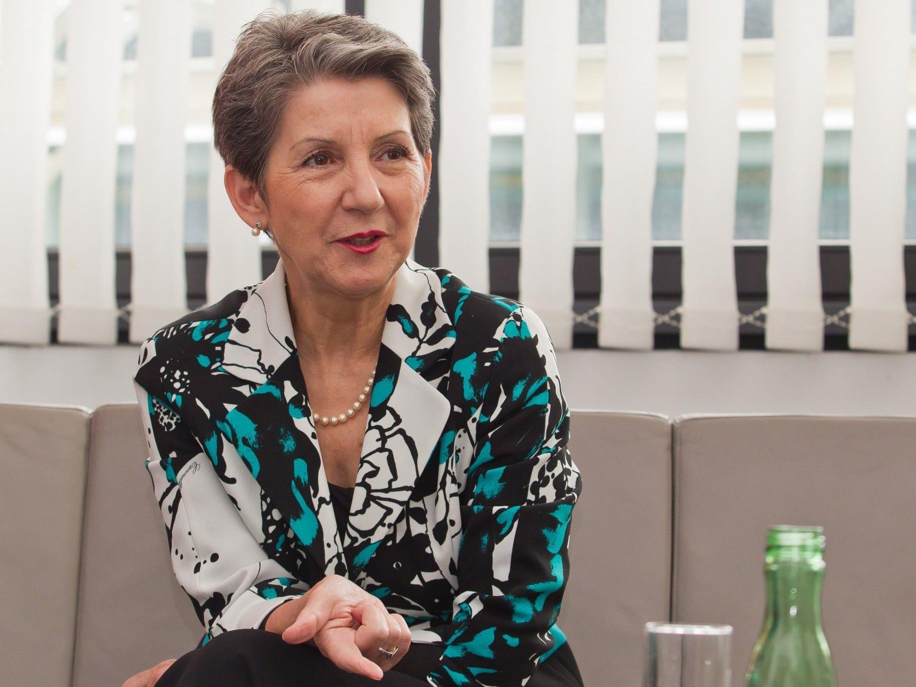 Nationalratspräsidentin Barbara Prammer (SPÖ) im VN-Interview