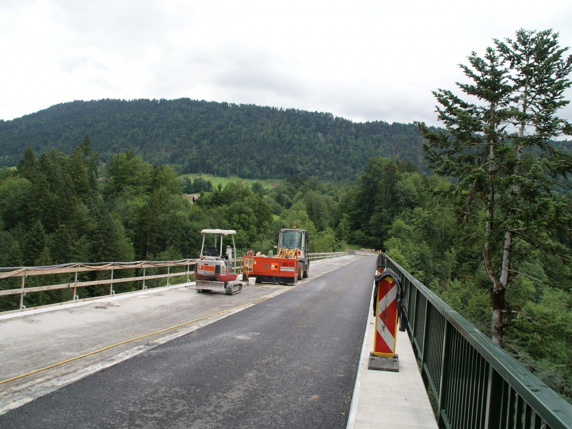 Die Bärentobelbrücke wird saniert