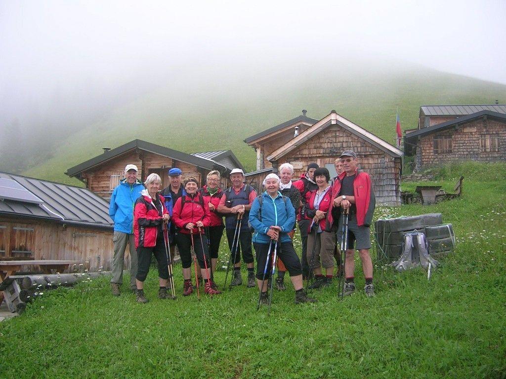 Die urige Siedlung Tuass im Lawenatal (Liechtenstein)
