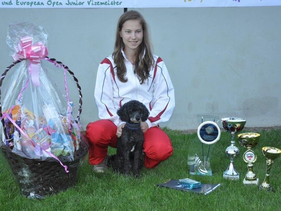 Mit 16 Jahren bereits zweifache Junioren Europameisterin Tonja Theuretzbacher.