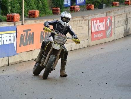 Mathias Beck überzeugte in Bäretswil wieder mit starken Leistungen