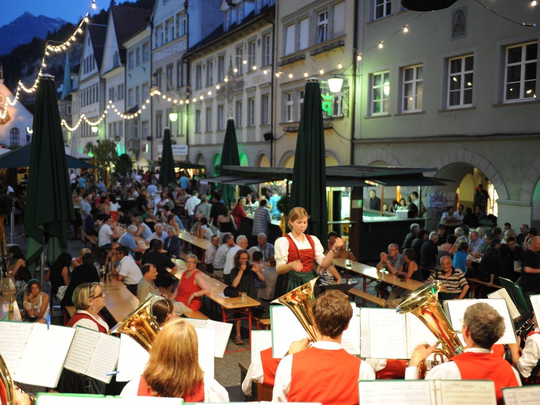 Feldkircher Weinfest Donnerstag bis Samstag