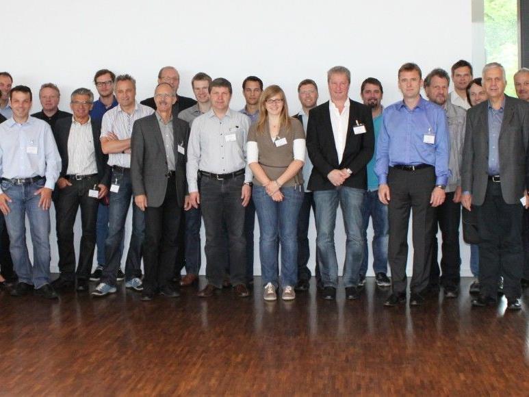 Die TeilnehmerInnen des 1. Energie-Effizienz-Netzwerks Vorarlberg