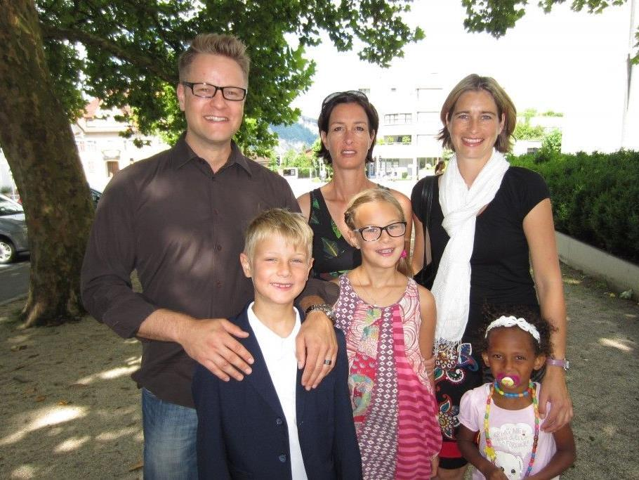 Lauro Färber wurde getauft.