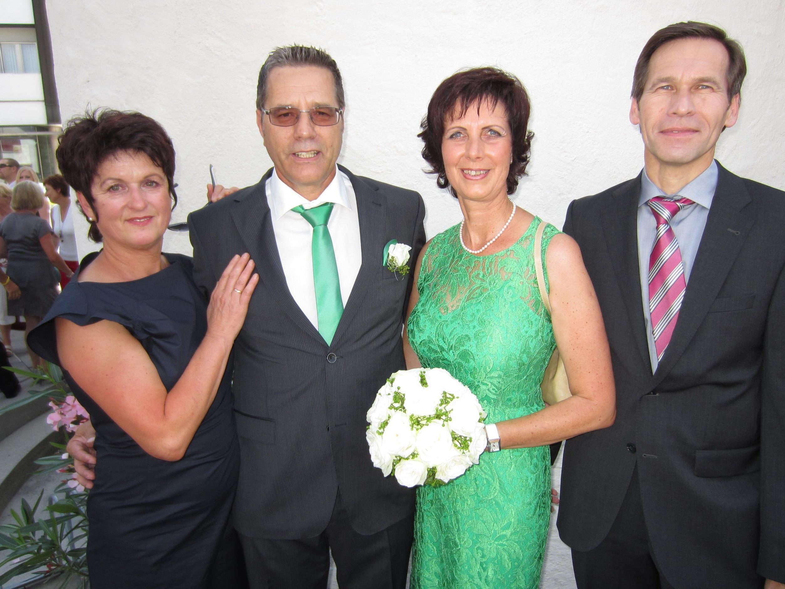 Anita Frank und Michael Dünser haben geheiratet.