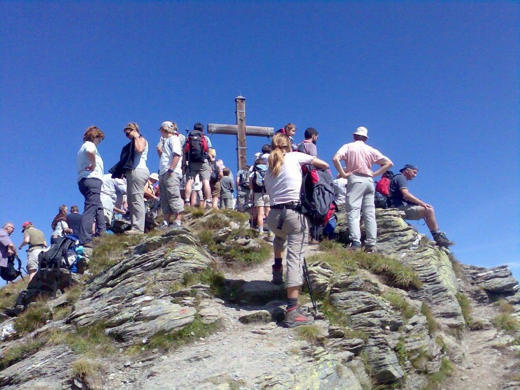 Um 11 Uhr findet die Gipfelmesse auf der Madrisella statt.