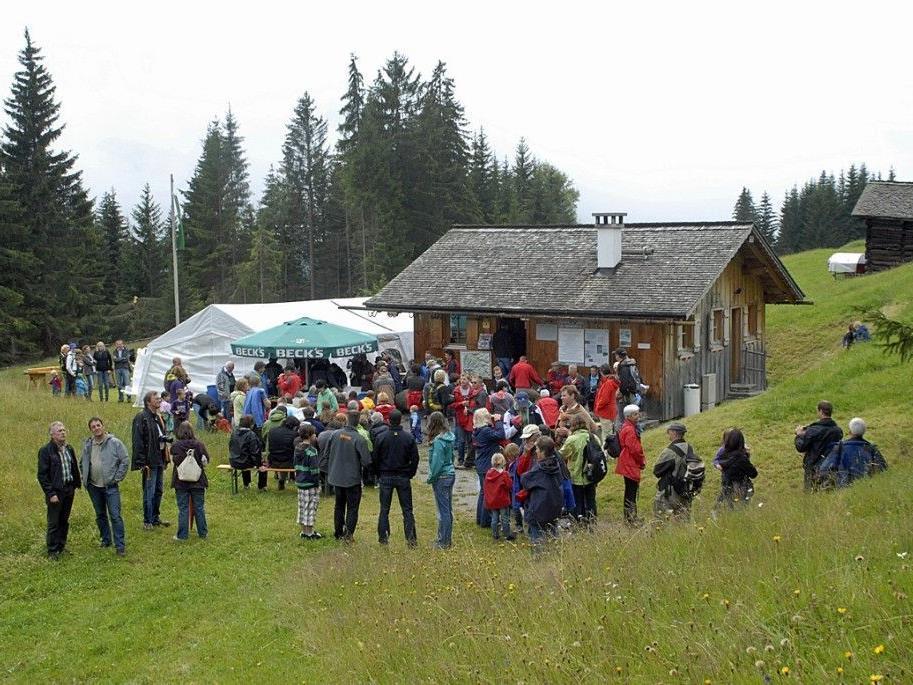 1. Danielfeier beim Historischen Bergwerk Bartholomäberg im Juli 2011.