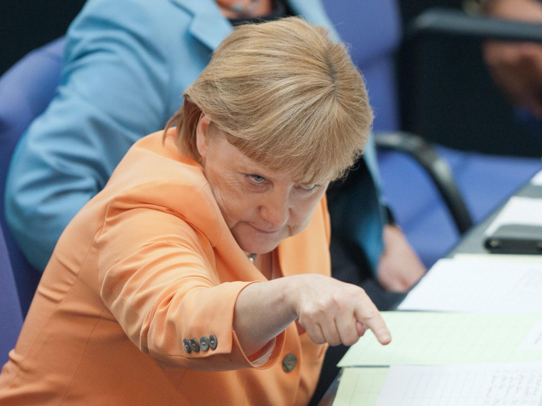"""Regierungsfraktionen verfehlen """"Kanzlermehrheit"""" in eigenen Reihen."""