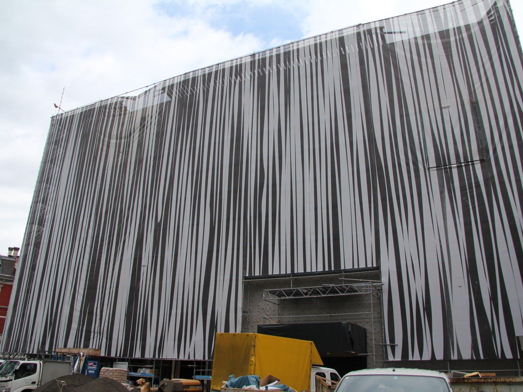 Das Budget für den Bau des vorarlberg museum beträgt rund 34 Millionen Euro.