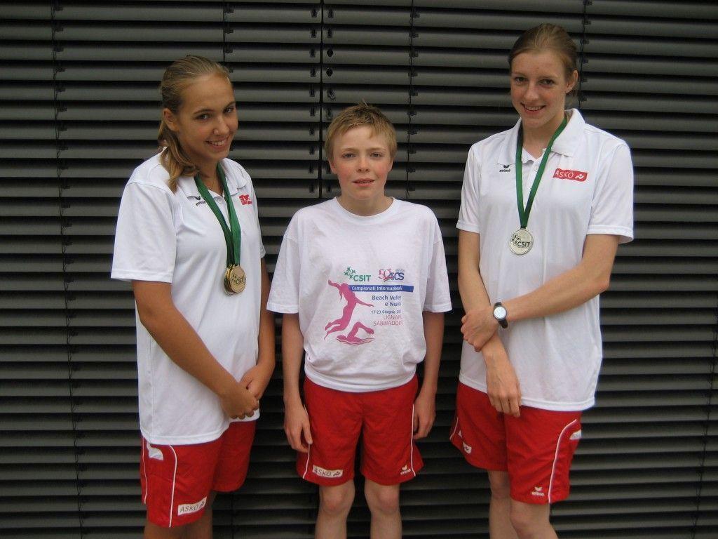 vl.: Celina Lutter, Wendelin Wimmer, Vera-Maria Wimmer