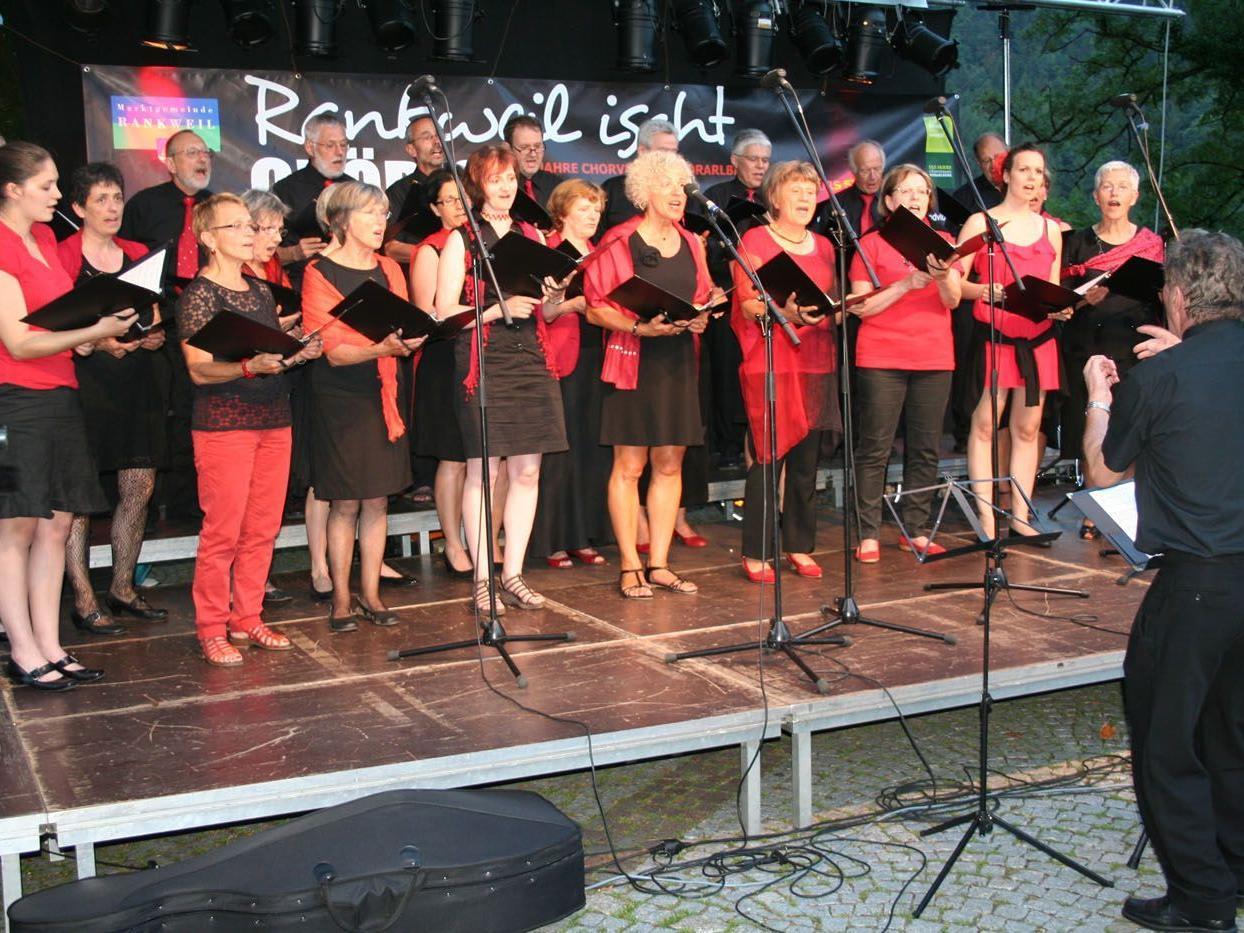 Insgesamt traten fünf Chöre auf: imPuls, Pleasure, Shalom, der Männergesangsverein Liederkranz sowie die Kantorei Rankweil.