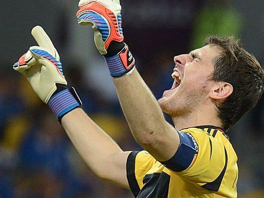 Casillas schafft 100. Sieg im Nationalteam.