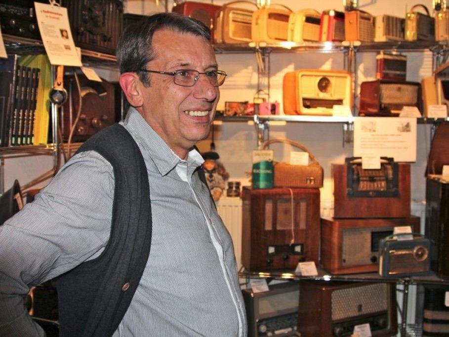 Der ambitionierte Amateurfunker und pensionierte Techniker Karlheinz Mallinger hat 2002 dieses Museum gestartet.