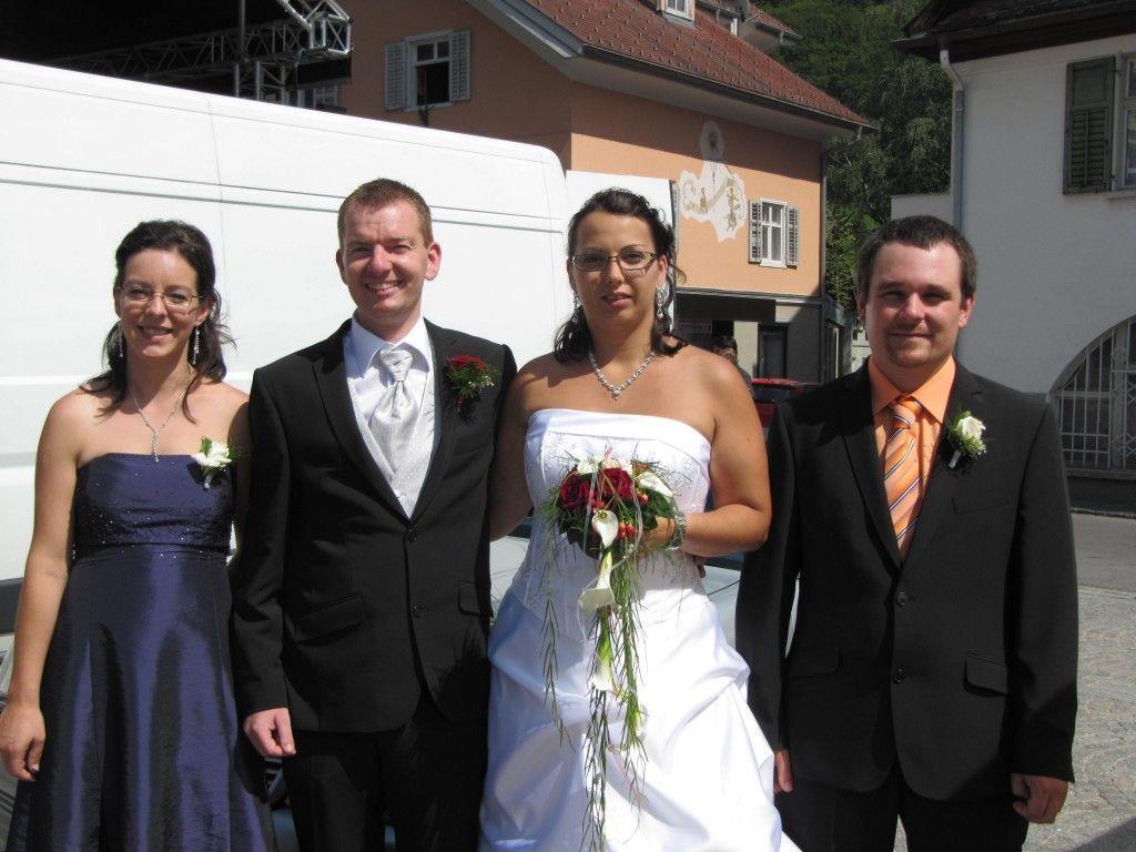 Astrid Leopolder und Jürgen Kleboth haben geheiratet.