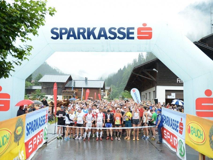 Rund 580 Teilnehmer starteten beim 10. Montafon Arlberg Marathon.