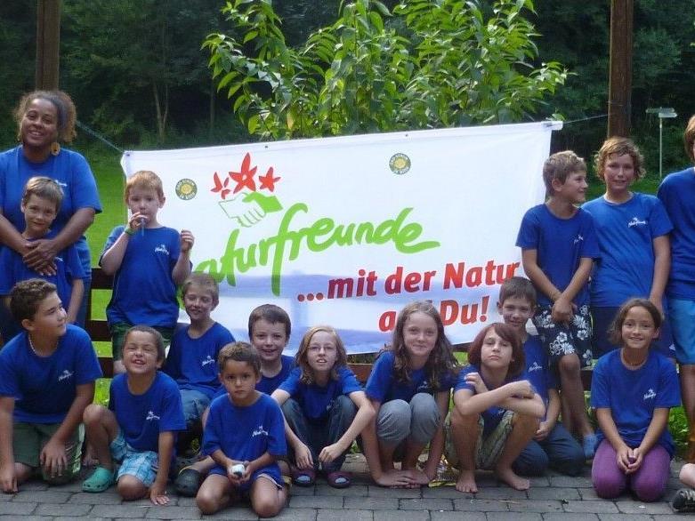Abenteuercamp für Kinder auf der Neuburg.