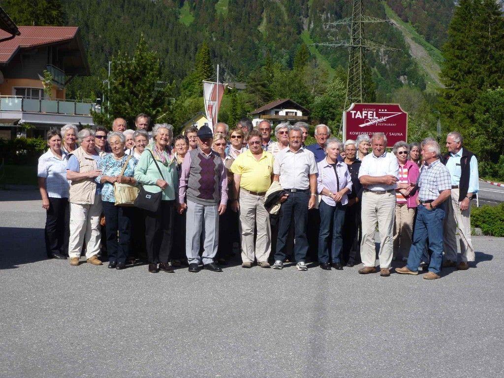 Wunderbarer Ausflug an den Plansee - organisiert von Seniorenbund-Obmann Josef Summer.