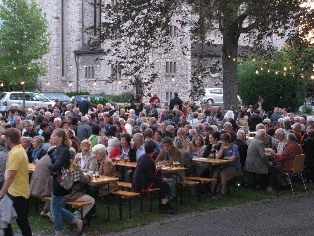 Die Stadtmusik lädt zum Fest im Plettenberg-Park.