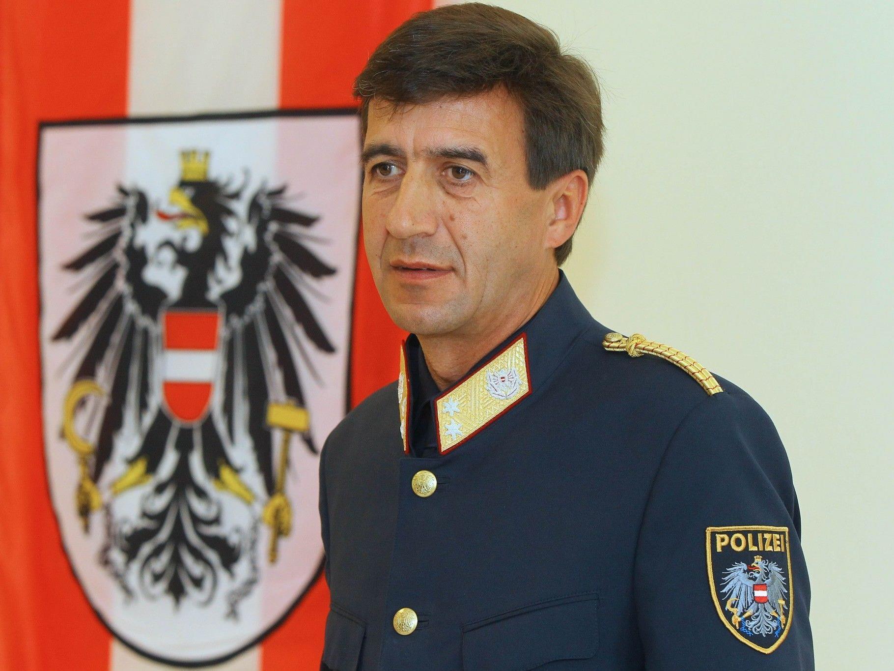 Bewirbt sich doch nicht als Landespolizeidireketor: Landespolizeikommandant Siegbert Denz